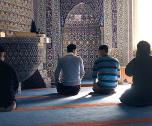 On occasion, the mosques in Germany open their doors to the public. Stefanie Vogl too...
